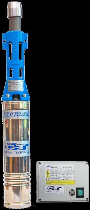 "UNIQUA AQUA J95-36 M2007 4"" SUMOTO, 20m, vřetenové čerpadlo (DOPRAVA ZDARMA, vřetenové čerpadlo)"