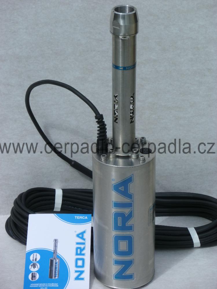 NORIA TERCA-80-16-N3, 25m (kabel, čerpadlo, DOPRAVA ZDARMA, ponorná vřetenová čerpadla TERCA-80