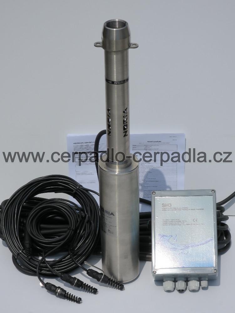 SET ADA COOL-N3 + SH3 + sondy 25m, čerpadlo NORIA, 235325 (DOPRAVA ZDARMA, ponorná čerpadla SET ADA COOL)