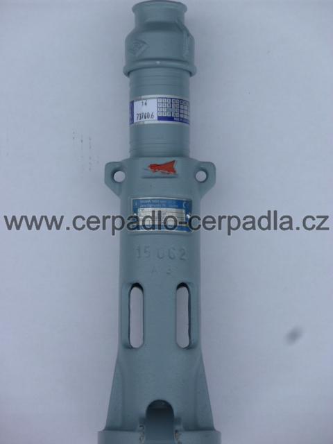 """1 EVAU-16-8-GU-070, Samostatná hydraulická část (1"""" EVAU-16 pro motor 4"""" , hydraulická část pro vřetenová čerpadla)"""