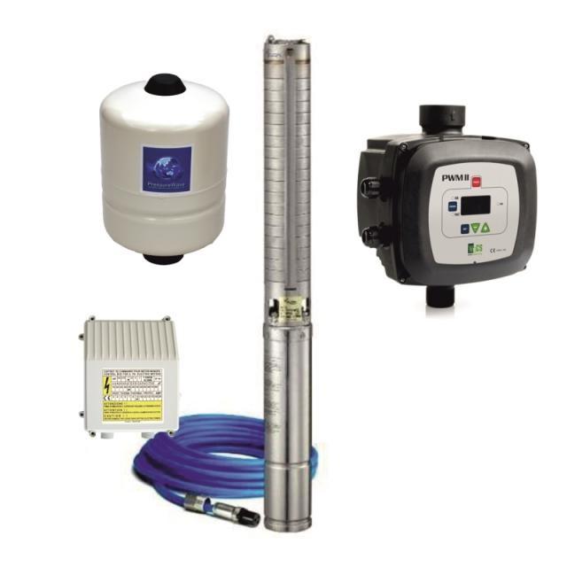 EVAK VS 3-65 PWM (čerpadlo, kompletní sada, 230V, DOPRAVA ZDARMA, VS 3-65 PWM, ponorná čerpadla s frekvenčním měničem)