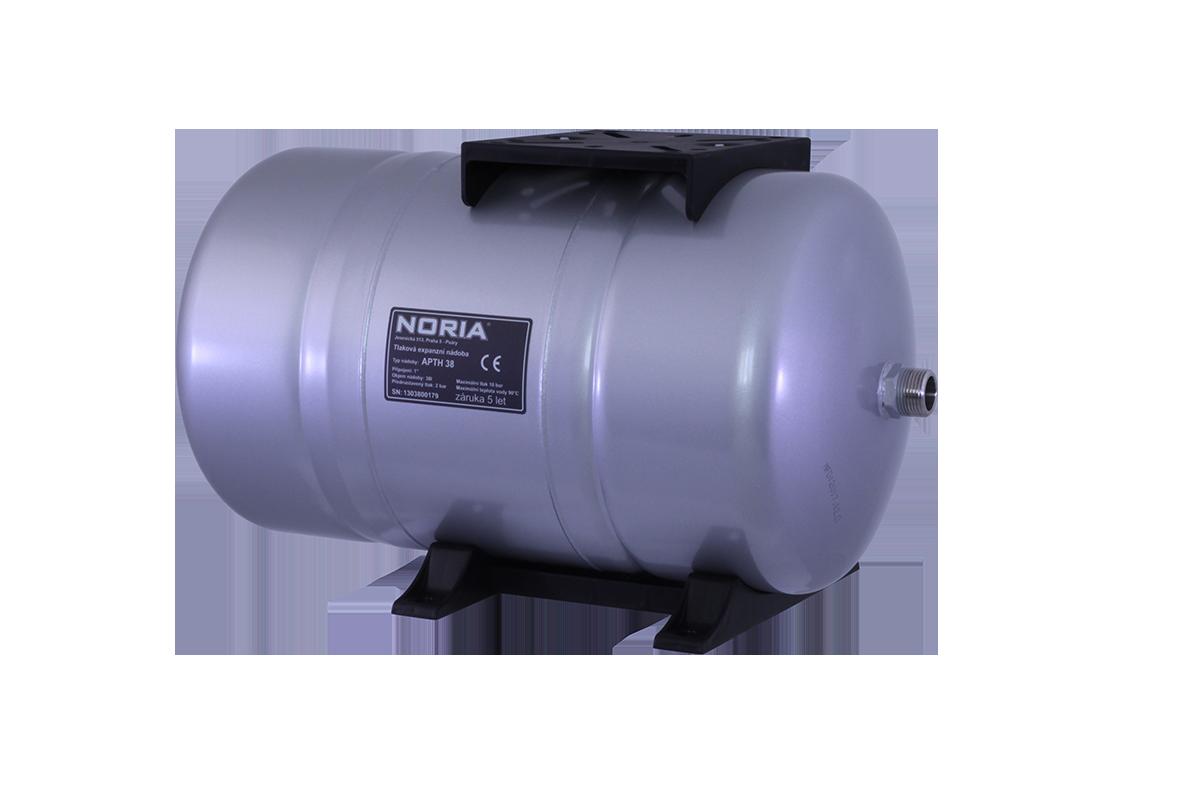 tlaková nádoba APTH-38, NORIA, ležaté tlakové nádoby (pro domácí vodárny, záruka 5 let, DOPRAVA ZDARMA, tlakové nádoby APT s butylovou membránou)