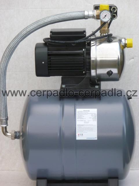 Grundfos Hydrojet JP 5 s 24 l nádrží, 4651BPBB, čerpadlo (domácí vodárna, Grundfos Hydrojet JP-5 s 24 l nádrží, 4651BPBB, čerpadla)