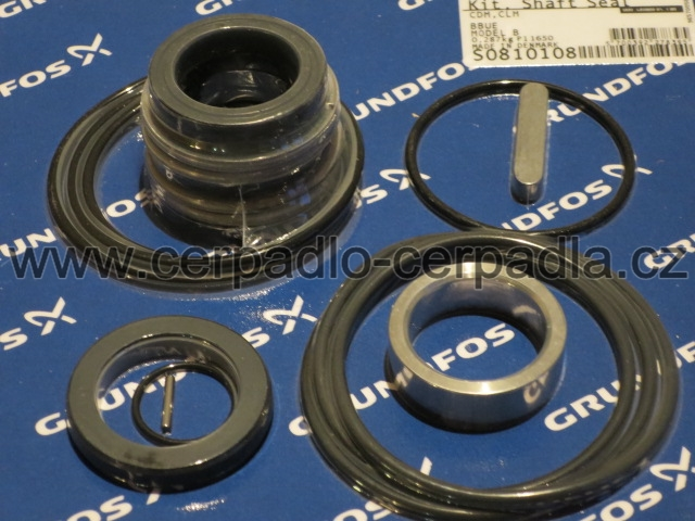 GRUNDFOS CLM 125-232-5,5 , mechanická ucpávka, sada ucpávky BBUE (GRD053) (sada ucpávky BBUE (GRD053) pro čerpadla GRUNDFOS CLM 125-232-5,5)