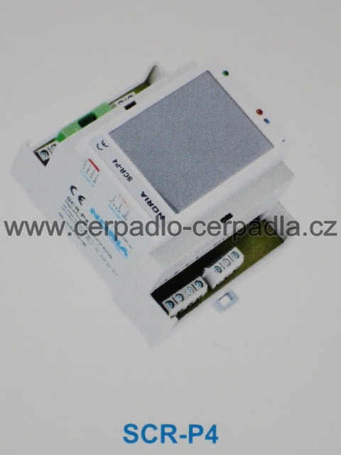 SCR-P4, řídící relé s dotykovým displejem a houkačkou pro systém TLAKAN P4 (SCR-P4, řídící relé s dotykovým displejem a houkačkou pro systém TLAKAN P4)