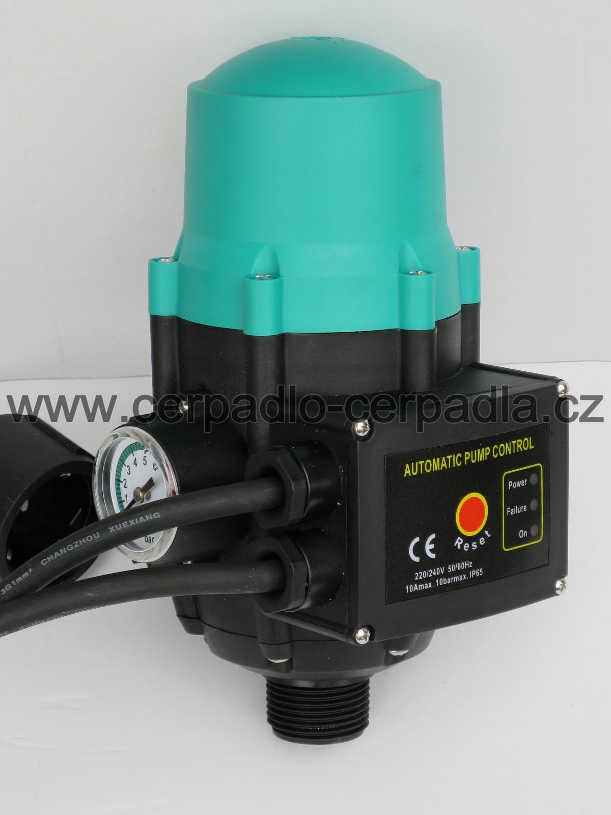 PUMPKONTROL PS01, verze s kabelem, Hydrokontrola, 230V, PRESSCONTROL (PUMPCONTROL PS01, průtokový spínač, jako hydrostat)