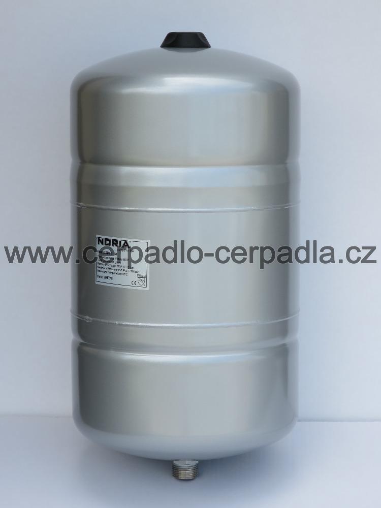 tlaková nádoba NORIA APT-38 (stojaté tlakové nádoby, pro domácí vodárny, záruka 5 let, DOPRAVA ZDARMA, tlakové nádoby APT s butylovou membránou)