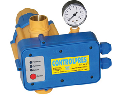 "DAB elektronický tlakový spínač, IVAR.CONTROLPRES G5/4"" pro čerpadla (IVAR.CONTROLPRES)"
