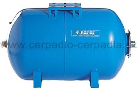 tlaková nádoba CIMM AFESB CE 100l, ležatá, 10 bar (s vakem, CIMM AFESB CE 100 horizontální, ležatá)
