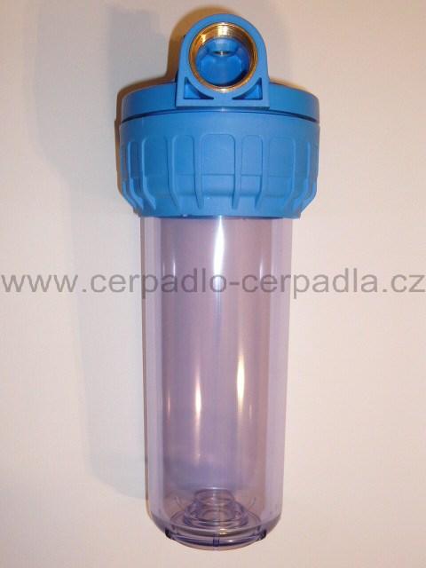"""FILTR VODA 1"""" dlouhý, 250mm, bez vložky, 100255 (vodní FILTR VODA, filtrace vody)"""