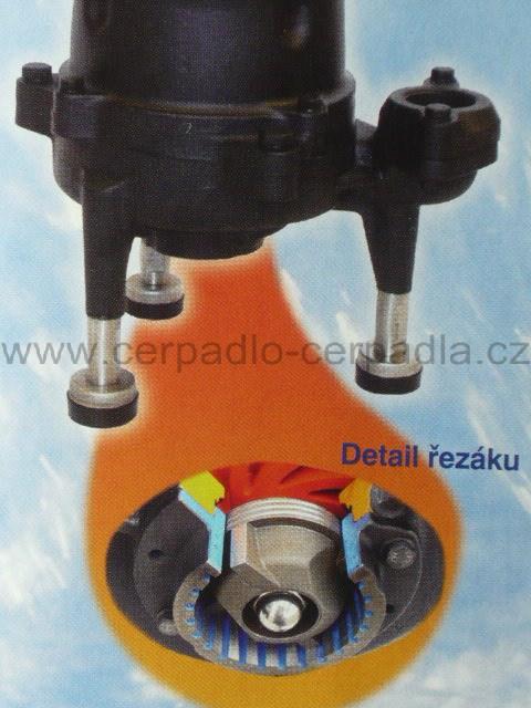 32GF21.5 400V, kalové čerpadlo HCP, s řezákem (AKCE DOPRAVA ZDARMA, kalová čerpadla 32GF21.5, řezák pro septik, kanalizace)