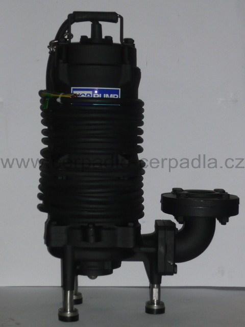 50GF22.2 400V, kalové čerpadlo s řezákem, HCP (AKCE DOPRAVA ZDARMA, kalová čerpadla HCP 50GF, řezák pro septik, kanalizace)
