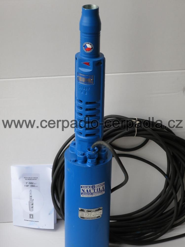 """Čerpadlo 1 1/4"""" EVGU-25-6-GU-080 kabel 25 m, EVGU-00012 (Sigma 1 1/4"""" EVGU-25-6-GU-080)"""
