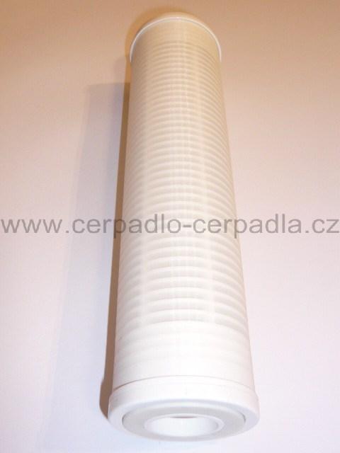 """FILTR VODA 1"""" dlouhá vložka z omyvatelné sítě, 60 mikronů, plast, 110165 (Vložka filtru plast 250 mm)"""