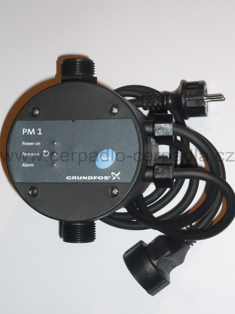 Grundfos PM 1/2.2, tlaková řídící jednotka, 96848722, pro čerpadla (Grundfos PM1, jako Presscontrol PC-22)