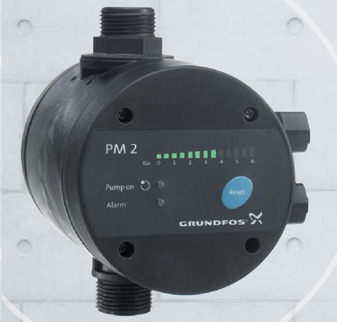 Grundfos PM 2 (řídící jednotka s kabelem 96848740, jako Presscontrol)