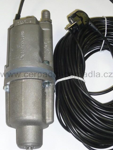 ROB-2 čerpadlo vibrační, 15m, malyš (ponorná čerpadla, vibrační čerpadlo ROB-2)