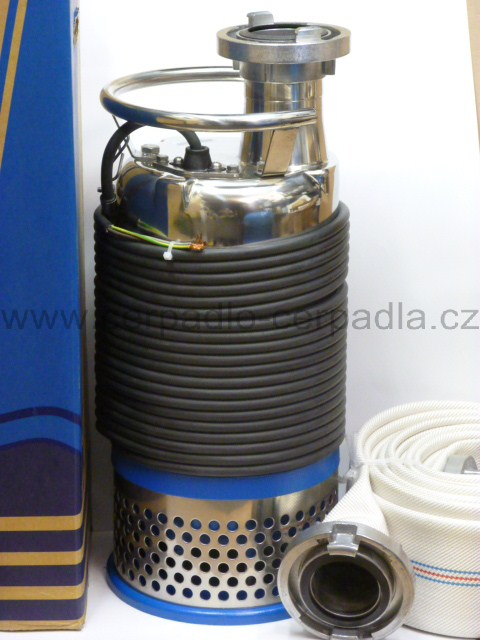 kalové čerpadlo 80ASH25,5 400V + hadice (DOPRAVA ZDARMA, kalová čerpadla, 80ASH25,5)