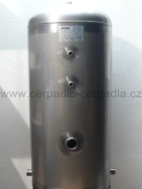 JOVAL nerezová tlaková nádoba bez vaku 300V stojatá (DOPRAVA ZDARMA, tlakové nádoby nerez joval)