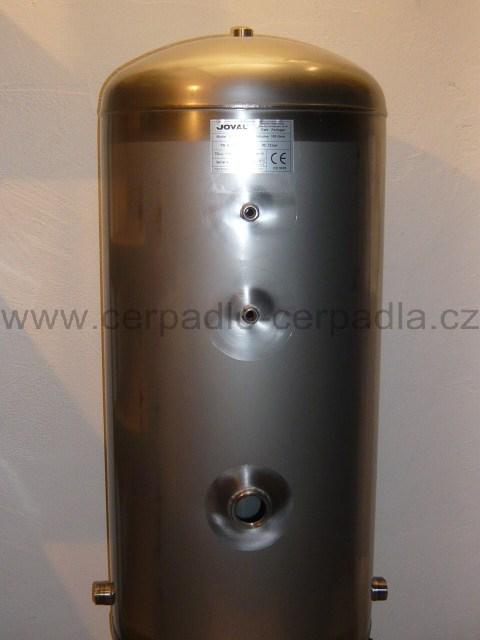 JOVAL nerezová tlaková nádoba bez vaku 750V stojatá 8bar (JOVAL 750 V)