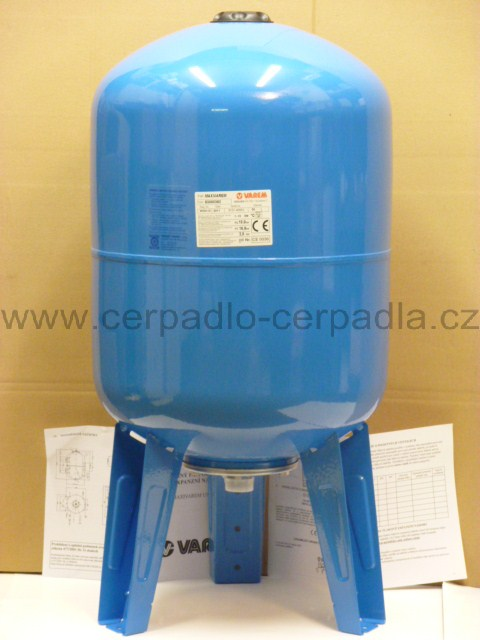 Maxivarem LS 60, NEREZ příruba, tlaková nádoba, stojatá (Maxivarem LS 60, tlakové nádoby Varem LS 60)