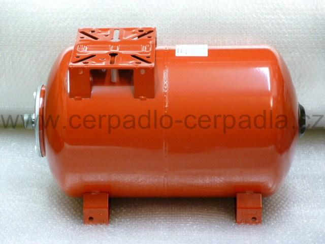 Maxivarem LS 60, NEREZ příruba, tlaková nádoba, ležatá (tlakové nádoby VAREM LS)