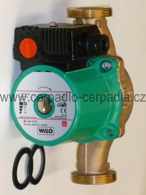 Wilo Star-Z 25/2 DM PN10, 400V, cirkulační čerpadlo, 4037124 (cirkulační čerpadla Star-Z 25/2 DM)