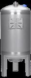 INOXVAREM LS 50 litrů, NEREZ tlaková nádoba, vertikální, AKCE (INOXVAREM, NEREZ tlaková nádoba)