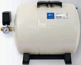 SET GWS 60l ležatá tlaková nádoba, ZB00001375 (tlakové nádoby, Vodárna - příslušenství GWS 60l ležatá)