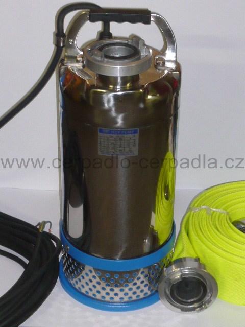 kalové čerpadlo 50ASH21.5 (400V, hadice C52, DOPRAVA ZDARMA, ponorná kalová čerpadla, 50ASH21.5)
