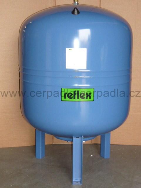 REFLEX Refix DE 50/10, tlaková nádoba,stojatá,7306005,membránové expanzní nádoby (REFIX DE 50/10 tlaková nádoba, modrá 7306005)