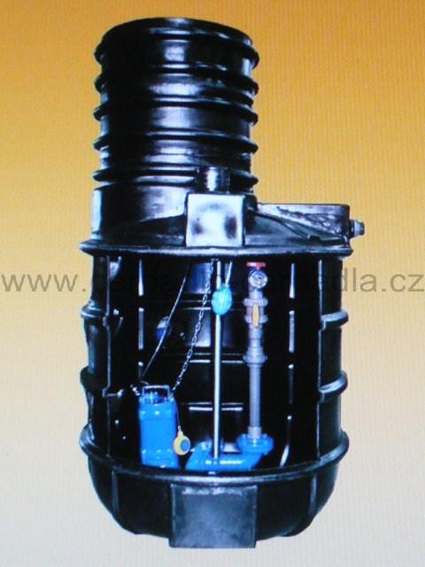 ČJ HCP 1100E E32A11 BF-05UNF 230V, čerpací jímka (1100E E32A11 BF-05UNF 230V, čerpací jímka)