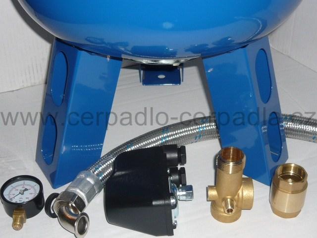 AQUAMAT 200 litrů tlaková nádoba s příslušenstvím (tlakové nádoby AQUAMAT 200, SET)