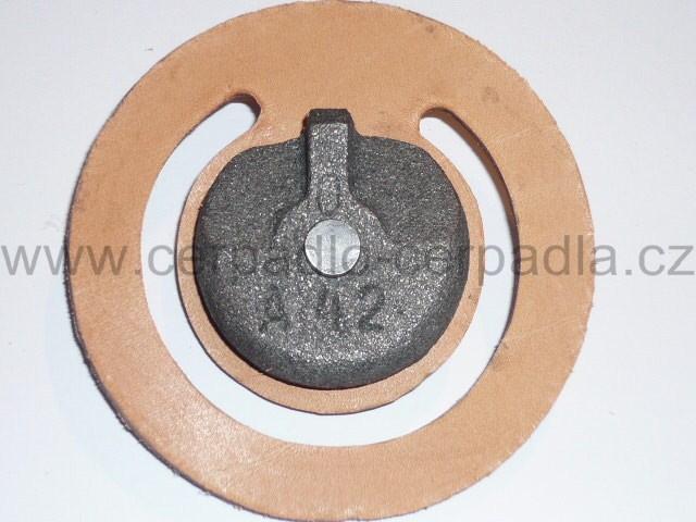 Klapka s přítěží PV 65, Náhradní díl pro pracovní válec ruční čerpadla KOVOPLAST (Klapka PV-65)