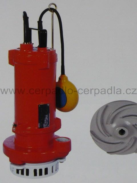 SIGMA 50-GFDU (SZ) 400V bez plováku, kalové čerpadlo (50-GFDU provedení SZ, kalové čerpadlo, kalová čerpadla, Sigma)