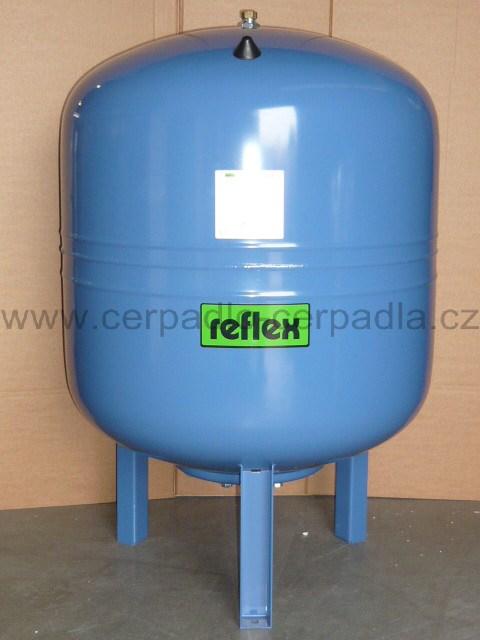 REFLEX Refix DE 500/10 (REFIX DE 500/10 REFLEX, ,tlaková nádoba,stojatá, 7306900, tlakové nádoby AQUAMAT)