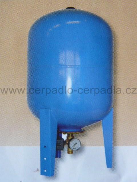 Vodárenský set 100 lit, tlaková nádoba + příslušenství ( jako AQUAMAT (Vodárenský set 100 litrů, tlakové nádoby)