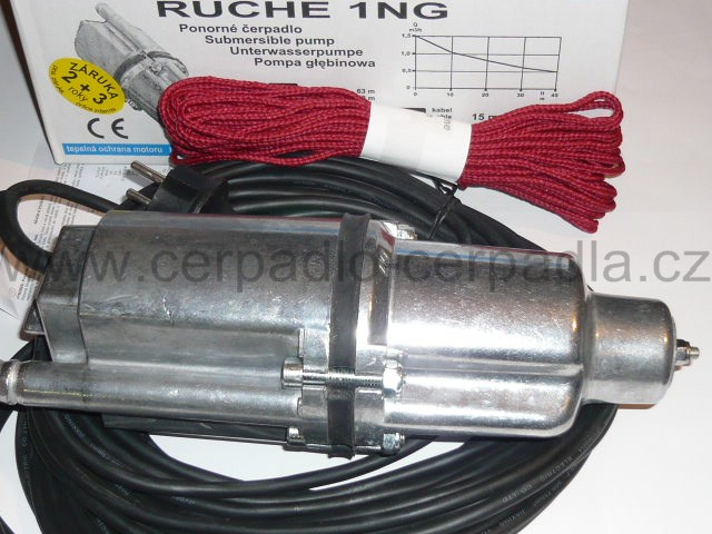 ponorné čerpadlo Ruche 1 NG, 50m (ponorná vibrační čerpadla RUCHE 1NG, jako čerpadlo malyš)