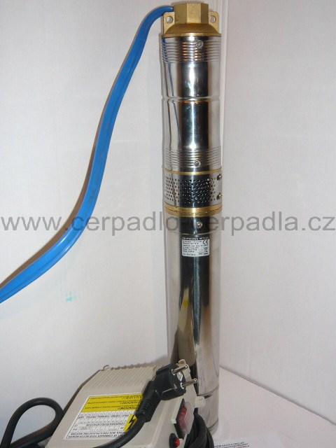 """ponorné čerpadlo HC73 - 0,5 kabel 1m (Ponorné vřetenové čerpadlo HC73 - 0,5 - 3"""")"""