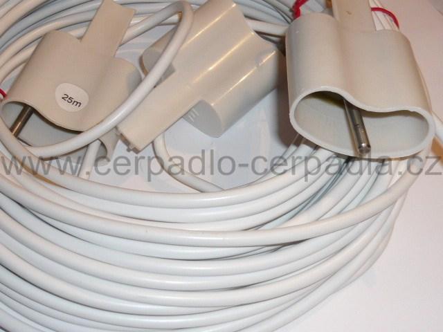 MAVE SONDA dvojitá 50+5m kabel , Ponorná sonda PSV-2 do vrtu dvojitá (MAVE SONDA PSV-2 do vrtu dvojitá, hlídání hladiny)